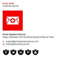 Minimal Email Signature Template  Design    Email