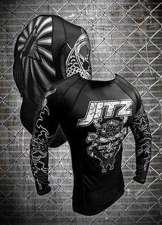 Jitz Samurai MMA JiuJitsu Rashguard MSRP $60 Now $19 CLEARANCE | eBay