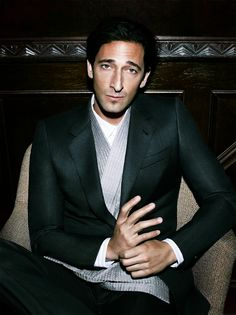 Adrien Brody  Download the#FashEngage iPhone App in the iTunes App Store!