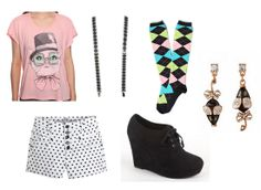 Glee - Brittany S. Pierce inspired outfit #2