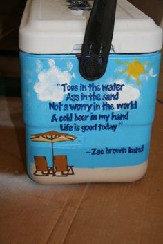 zac brown band cooler my favorite summer song totally making this