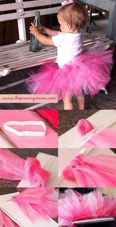 DIY a no-sew tutu for any kid-at-heart.