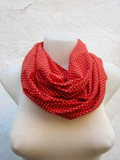 infinity scarf  Neckwarmer Necklace scarf Fabric scarf   by nurlu, $14.00