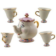 Disney tea cups. I want this!