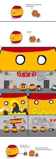 Spain Out   Polandballs Countryballs