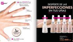 Corrector y esmalte de uñas de la marca Flormar.