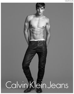 Matthew Terry is a Denim Dream for Calvin Klein Jeans image Matthew Terry Calvin Klein Jeans Fall Winter 2014 Campaign 002
