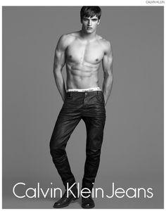Matthew Terry is a Denim Dream for Calvin Klein Jeans image Matthew Terry Calvin Klein Jeans Fall Winter 2014 Campaign 002