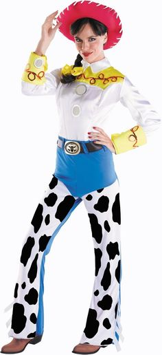 Toy Story: Adult Jessie Deluxe Costume ($69.99) - Party City ONLINE | 4 stars