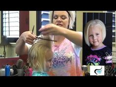 Stacked Bob Haircut For Little Girls - YouTube