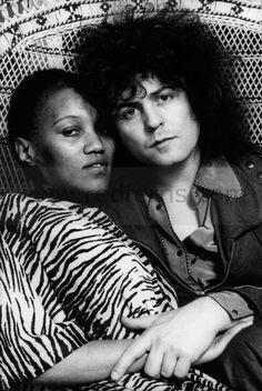 Gloria Jones & Marc Bolan