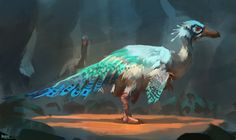 ArtStation - Bird of Paradise, Raph Lomotan