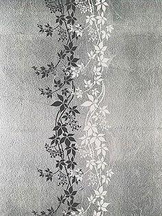 Free Large Wall Stencils | vine stencil for wall decor. Reusable wall stencils, border stencils ...
