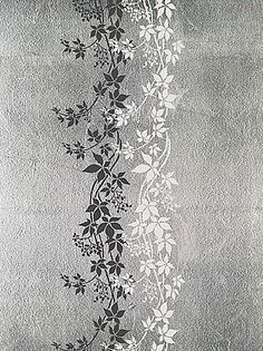 Free Large Wall Stencils   vine stencil for wall decor. Reusable wall stencils, border stencils ...