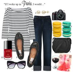 Parisian/you will not look like a tourist.