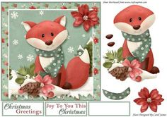 Christmas Foxy Greetings