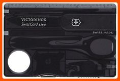 Victorinox 53333 SwissCard Lite Onyx - Little daily helpers (*Amazon Partner-Link)