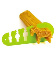 I Could Eat A Horse Spaghetti Measure by Stefán Pétur Sólveigarson. Cutest kitchen gadget ever! This would make a clever and inexpensive housewarming gift. $12.50