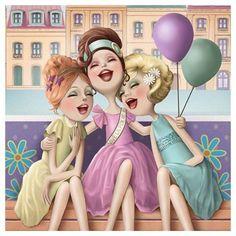 Minhas meia irmãs por parte de pai Kely Kenny e Katy