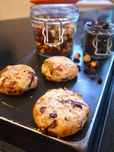 Annie's Hungry: Salted Hazelnut and Chocolate Cookies