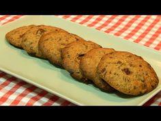 Galletas con chispas de chocolate Receta fácil y rápida - YouTube