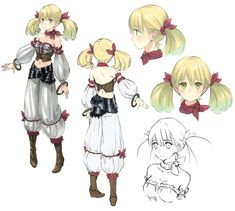 Lionela Concept from Atelier Rorona: The Alchemist of Arland