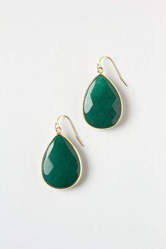 Gold Rung Earrings - anthropologie.com #anthroregistry