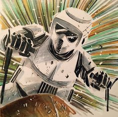 Biker Scout - Star Wars - Mike Henderson