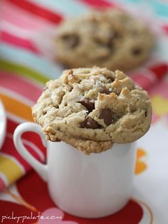 Brown Buttered Fleur de Sel Chocolate Chip Cookies - great! Use milk choc chips next time.