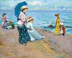 csók istván - Google keresés Seaside, Painting, Google, Hungary, Paint, Kunst, Beach, Painting Art, Paintings