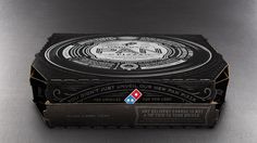 new domino's pizza box