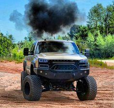 jacked up diesel trucks Trucks Only, Big Rig Trucks, Gm Trucks, Cool Trucks, Pickup Trucks, Muddy Trucks, Jacked Up Chevy, Lifted Dodge, Lifted Chevy Trucks