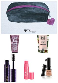 My December 2014 #ipsy Glam Bag.