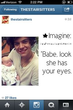 Harry imagine.....it would be a lot better if it was NIALL