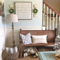 Another favorite on the same color card is SW Sea Salt.  We used this color in our downstairs dining room. I love how the sun hits it in the morning.