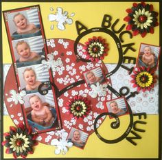 A BUCKET of FUN - Scrapbook.com