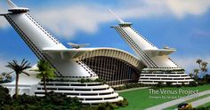 Designs by Jacque Fresco  The Venus Project Beyond Politics, Poverty and War www.thevenusproject.com