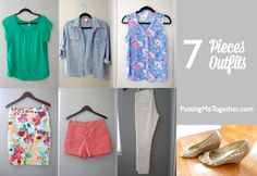 7 Pieces 7 Outfits | Putting Me Together blog