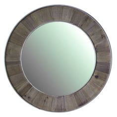 Found it at Wayfair - Solid Recycled Fir Mirror