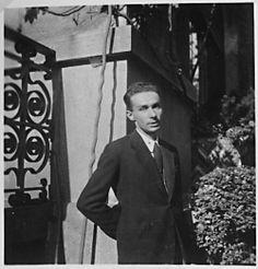 1948 - Una delle rare foto di Primo Levi negli anni '40