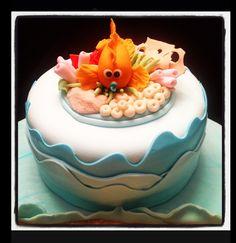 Sea themed Fondant Cake Topper              By Joheliescakes