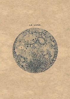 la luna//
