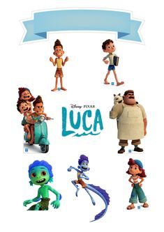 Lucca, Cupcake Toppers, Disney Pixar, Batman, Birthday, Party, Movies, Character, Templates