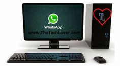 Download whatsapp to your PC http://www.thetechlover.com/2014/04/download-whatsapp-for-pc-windows-xp-7-8-MAC.html