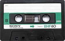 sony_bhf60_071126 audio cassette tape