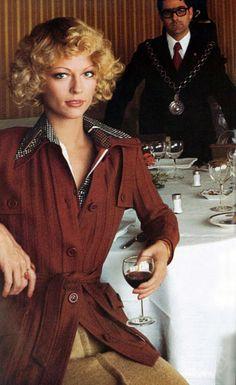 Photo by Toscani Vogue Italia 1973