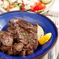 Fried chicken livers with Balsamic Vinegar, cinnamon and coriander