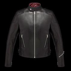 """Le nouveau cuir """"Champion"""" des Ateliers Ruby : http://www.moto-deal.com/infos/blouson-en-cuir-ruby/"""