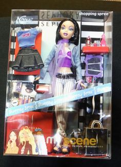 MY SCENE NOLEE BARBIE DOLL SHOPPING SPREE   #DollswithClothingAccessories