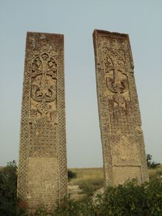The highest cross-stones of the world, Erzrum, Western armenia
